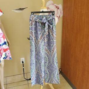 Lucy and Laurel Wide Flare Pants